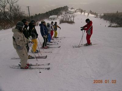 正月の練習会